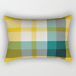 Plaid 15 Rectangular Pillow