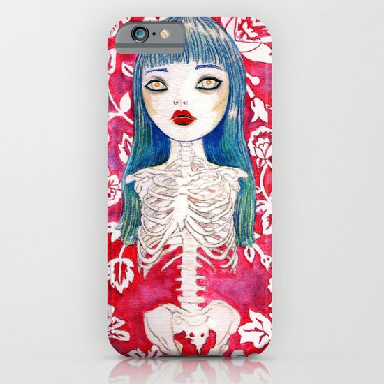 Skeleton Girl iPhone & iPod Case