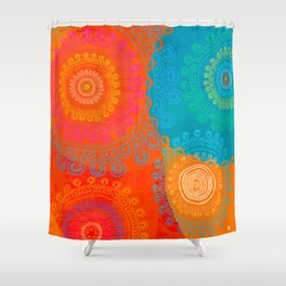 BE EXACTLY WHO YOU ARE Shower Curtain