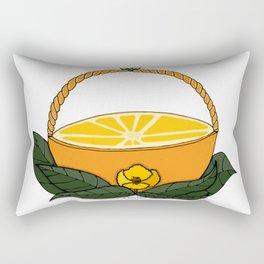 A Fruit Basket Rectangular Pillow