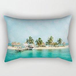 Rendezvous Caye Rectangular Pillow