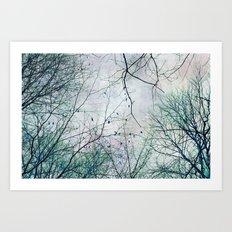 twigs tapestry Art Print