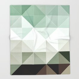 Apex geometric II Throw Blanket