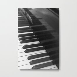 Old grand piano Metal Print
