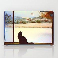 Tosca's Winter Window iPad Case
