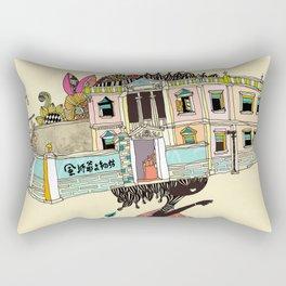 THE GIRL'S HAT Rectangular Pillow