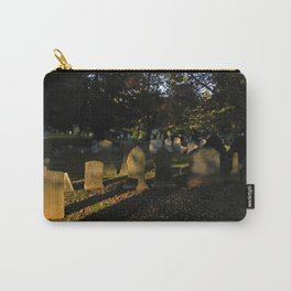 Headstones in a Fall Sunset Carry-All Pouch