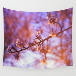 Spring Evening Wall Tapestry