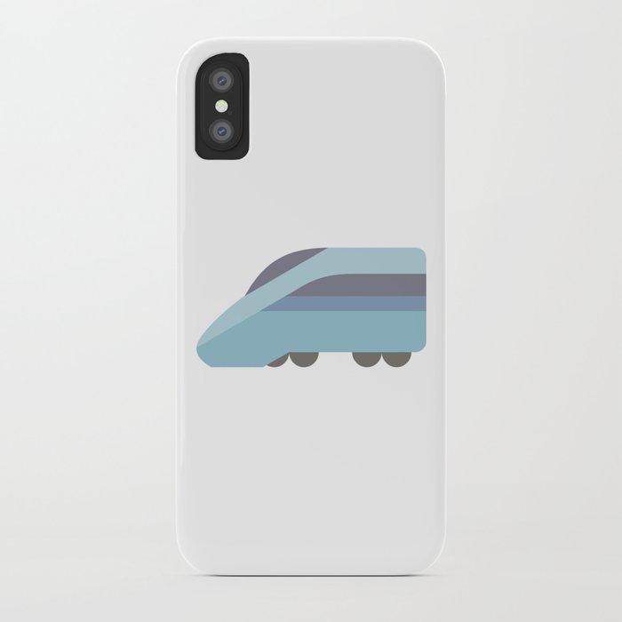 Speed Train Icon Emoji Iphone Case By Azza1070 Society6