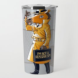 I'm Not a Russian Spy Travel Mug