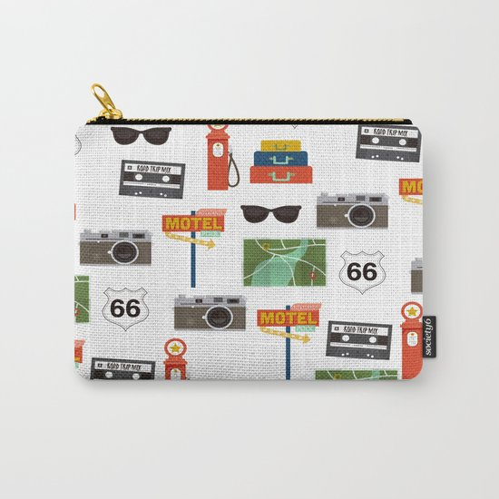 Travel Collage Carry-All Pouch