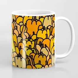 Duck in a Pumpkin Patch Coffee Mug