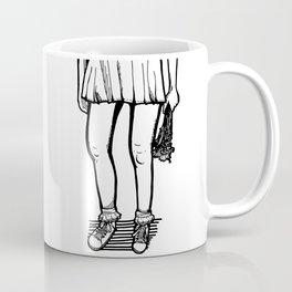 I Brought You Flowers Coffee Mug