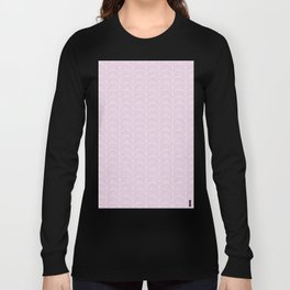Art Deco Lavender Fields by Friztin Long Sleeve T-shirt