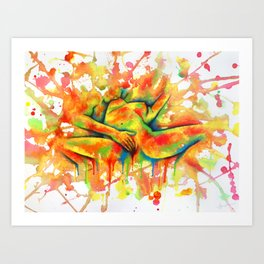 Colorful Climax Art Print