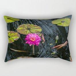 Amazonian Water Lily Rectangular Pillow