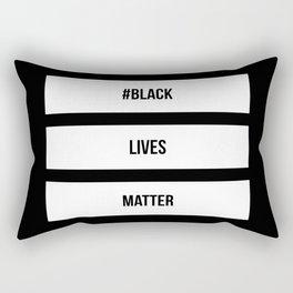 BLACK LIVES MATTER Rectangular Pillow