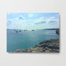 Mediterranean Sea Off of Menorca Metal Print