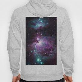 Orion Nebula Purple teal full Hoody