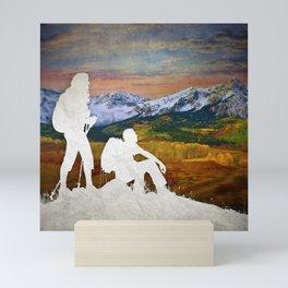 Autumn Hike Mini Art Print