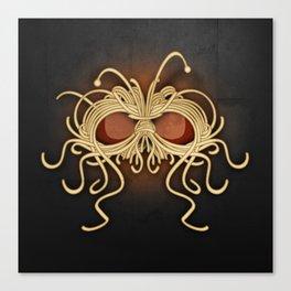 Flying Spaghetti Monster Canvas Print