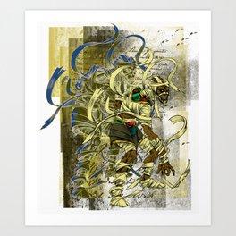 Mummy Stoned Art Print