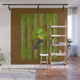 Squawking Toucan! Wall Mural