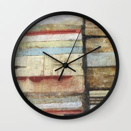 The Right Of Way Wall Clock
