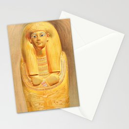 Carter, Howard (1874-1939) - The Tomb of Iouiya & Touiyou 1907, Outer coffin of Touiyou Stationery Cards