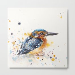 Kingfisher Lane Metal Print