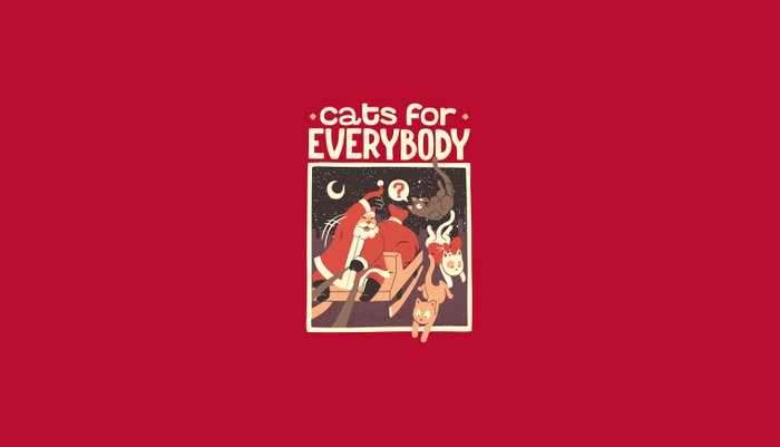 Cats for Everybody Pillow Sham