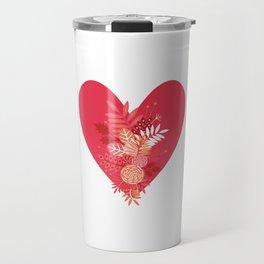 Feelings (Pink) Travel Mug