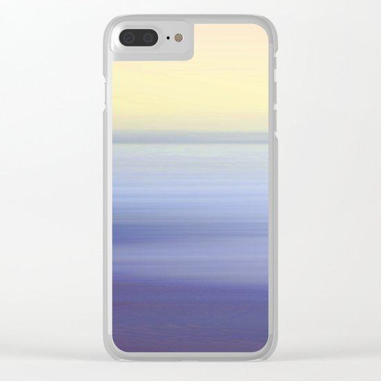 Ocean Dream Clear iPhone Case