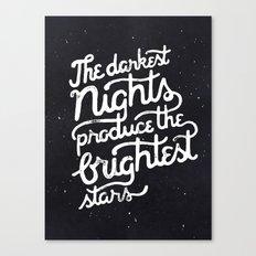 Darkest Nights Canvas Print