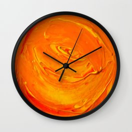 Lapeda Textile Art - 5 Wall Clock