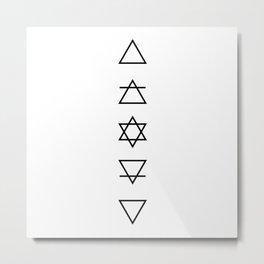 As Above So Below Metal Print