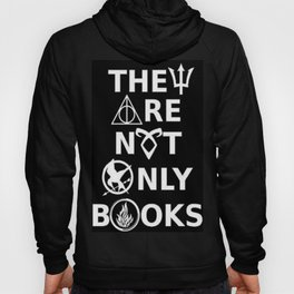 They Are Not Only Books (inverted) Hoody