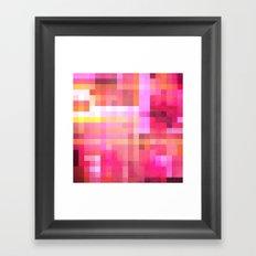 Pixel 1 Framed Art Print