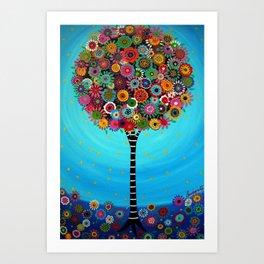 Tree of Life by Pristine Cartera Turkus Art Print