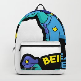 Police dinosaurs back pain Backpack