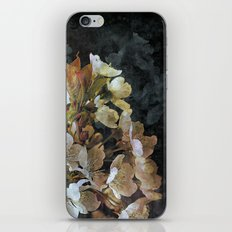 Painterly vintage apple blossoms iPhone & iPod Skin