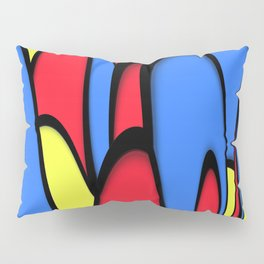Comedy of Color Pillow Sham