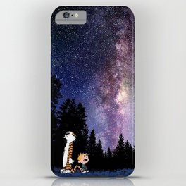 calvin and hobbes dreams iPhone Case