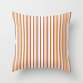 Cool Stripes Throw Pillow