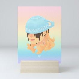 Greek God Coffee Mini Art Print
