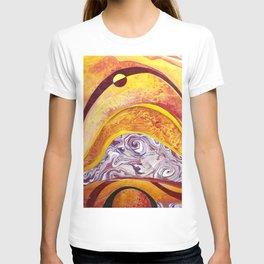 Solar Eclipse o're de mountain T-shirt