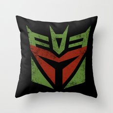 Bobacon Throw Pillow