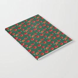 Poppy Field & Bees Notebook