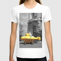 yellow submarine T-shirts featuring yellow submarine  by 33bc