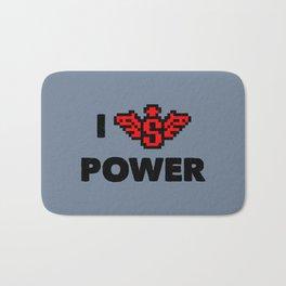 I heart Power Bath Mat